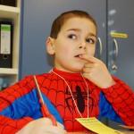 Der nachdenkliche Spiderman