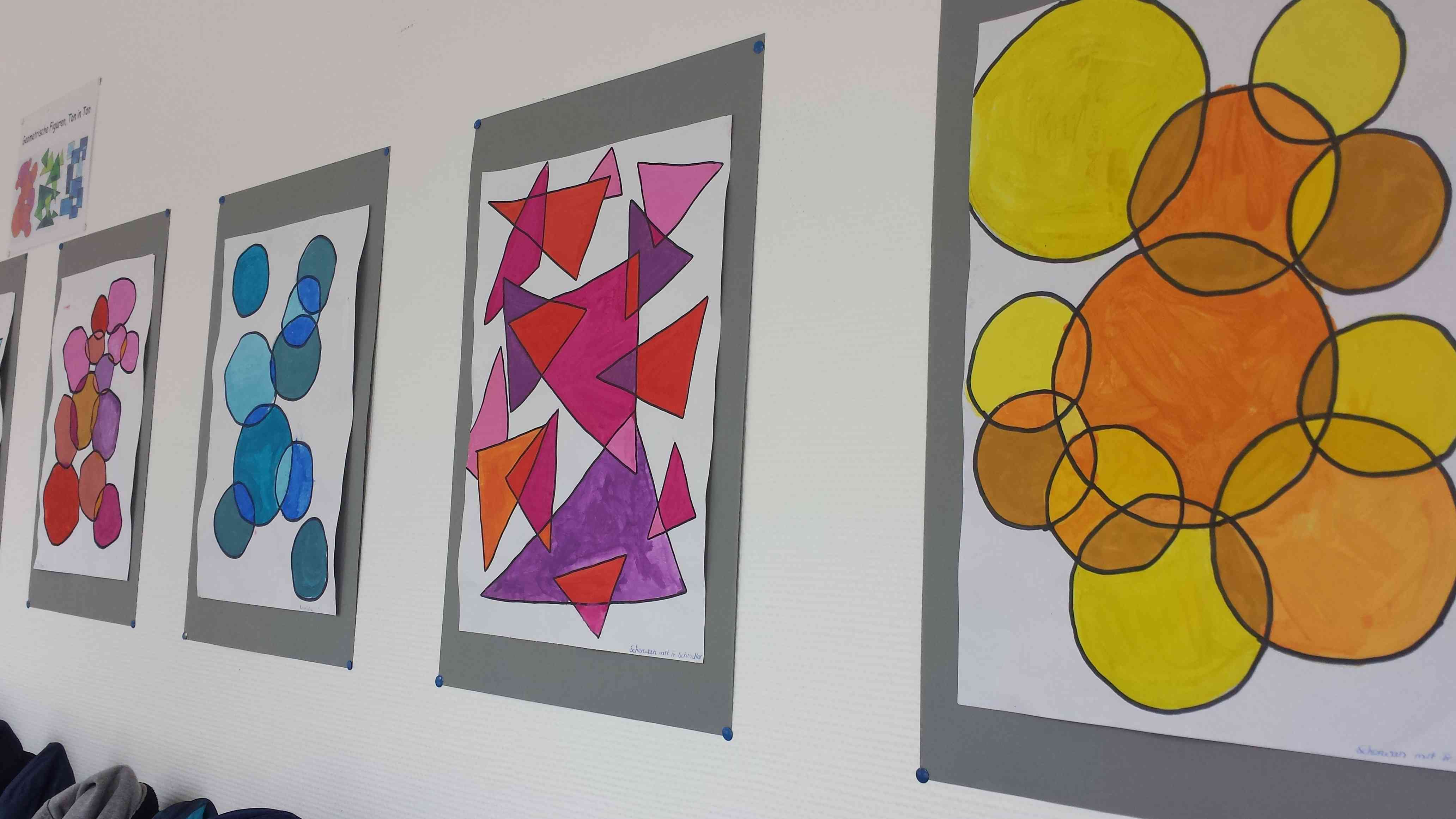 Geometrische Kunst Wilhelm Busch Schule Hagen