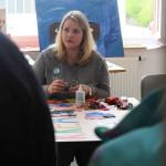 Sonderpädagogin Nina Künzel unterstützte mit ihren krativen Ideen.